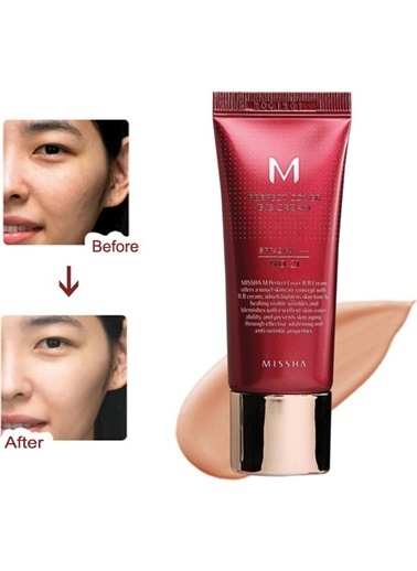 Missha M Perfect Cover Bb Cream No: 27  ( 20 Ml ) Bej